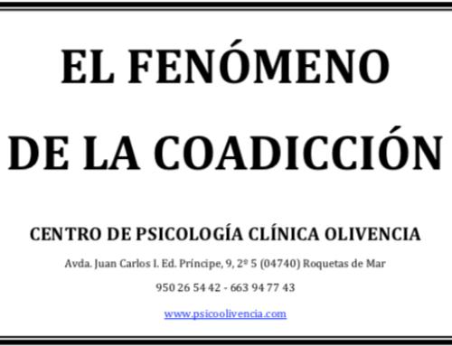 El fenómeno de la coadicción (1ª parte)